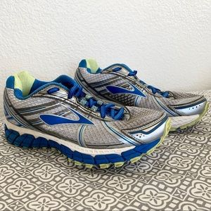 Brooks Adrenaline GTS 15 Gray Running Shoes